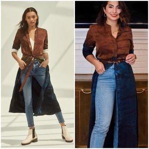 ANTHRO CLOTH & STONE PERLA TIE-DYE MAXI DRESS